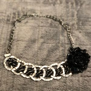 Black Rose Chain Choker 💥5 for $25💥
